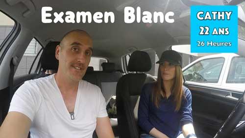 Examen blanc de conduite